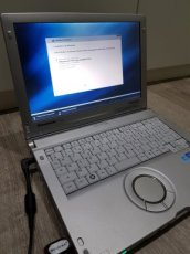 PC Panasonic toughbook  auto diagnostique ful